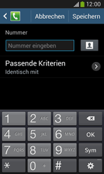 Samsung S7275 Galaxy Ace 3 - Anrufe - Anrufe blockieren - Schritt 9