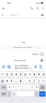 Oppo A72 - Contact, Appels, SMS/MMS - Envoyer un MMS - Étape 14