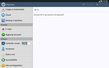 Samsung Galaxy Tab 3 10-1 LTE - Software - Installazione degli aggiornamenti software - Fase 5