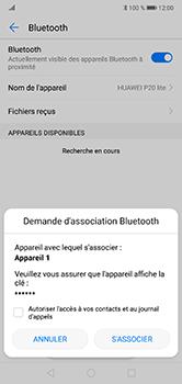 Huawei P20 Lite - Bluetooth - connexion Bluetooth - Étape 9