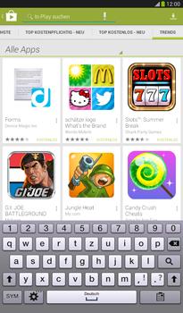 Samsung Galaxy Tab 3 7-0 - Apps - Herunterladen - 13 / 19