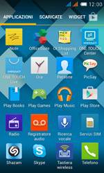 Alcatel One Touch Pop C3 - Applicazioni - Come verificare la disponibilità di aggiornamenti per l