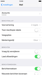 Apple iPhone 6 (iOS 10) - e-mail - handmatig instellen - stap 10