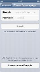 Apple iPhone 5 - Applicazioni - configurazione del negozio applicazioni - Fase 4