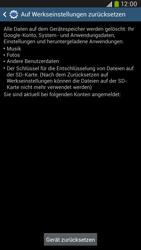 Samsung I9205 Galaxy Mega 6-3 LTE - Fehlerbehebung - Handy zurücksetzen - Schritt 9