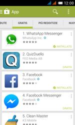 Alcatel One Touch Pop C3 - Applicazioni - installazione delle applicazioni - Fase 9