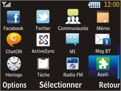 Samsung S3570 Chat 357 - Bluetooth - connexion Bluetooth - Étape 5