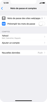 Apple iPhone XS - E-mail - Configuration manuelle (yahoo) - Étape 10