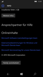 Microsoft Lumia 950 - Fehlerbehebung - Handy zurücksetzen - Schritt 8