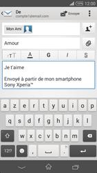 Sony D6603 Xperia Z3 - E-mail - envoyer un e-mail - Étape 9