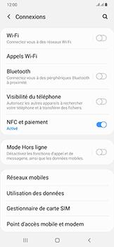 Samsung Galaxy A50 - Wifi - configuration manuelle - Étape 4