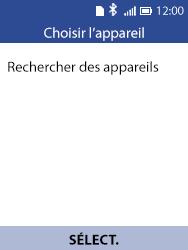 Alcatel 3088X - Photos, vidéos, musique - Envoyer une photo via Bluetooth - Étape 11