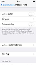 Apple iPhone 5c iOS 9 - Internet und Datenroaming - Prüfen, ob Datenkonnektivität aktiviert ist - Schritt 4