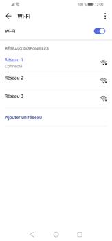 Huawei P30 lite - Internet et connexion - Accéder au réseau Wi-Fi - Étape 8