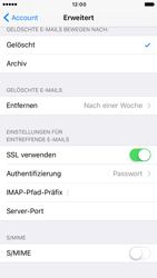 Apple iPhone 7 - E-Mail - Konto einrichten - 25 / 32