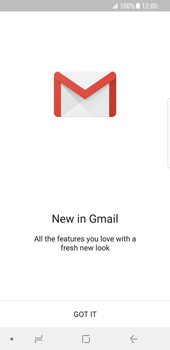 Samsung Galaxy S8 - Android Oreo - E-mail - 032a. Email wizard - Gmail - Step 4