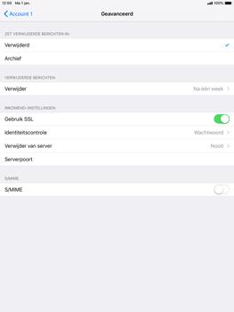 Apple ipad-air-2-met-ios-12-model-a1567 - E-mail - Handmatig instellen - Stap 23