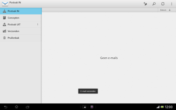 Sony SGP321 Xperia Tablet Z LTE - E-mail - e-mail versturen - Stap 13