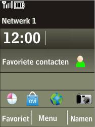 Nokia X3-02 - netwerk en bereik - gebruik in binnen- en buitenland - stap 9