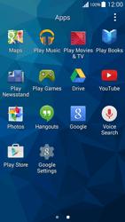 Samsung G530FZ Galaxy Grand Prime - Applications - Create an account - Step 3