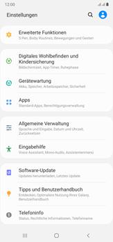Samsung Galaxy Note 20 Ultra 5G - Apps - Eine App deinstallieren - Schritt 4