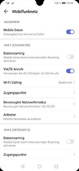 Huawei P30 Lite - Netzwerk - So aktivieren Sie eine 4G-Verbindung - Schritt 7