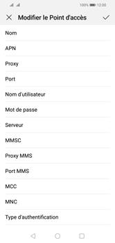 Huawei Y5 (2019) - MMS - configuration manuelle - Étape 12
