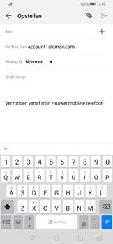 Huawei P Smart Z - E-mail - e-mail versturen - Stap 3