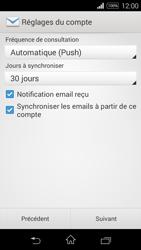 Sony D2203 Xperia E3 - E-mail - Configuration manuelle - Étape 15