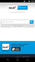 Sony Xperia T - Internet et roaming de données - Navigation sur Internet - Étape 11