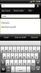 HTC Z715e Sensation XE - E-mail - Sending emails - Step 8