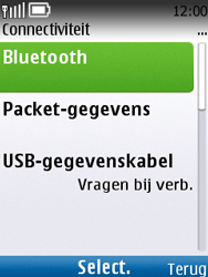 Nokia C2-01 - bluetooth - aanzetten - stap 5