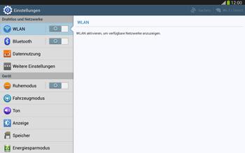 Samsung Galaxy Tab 3 10-1 LTE - Internet und Datenroaming - Manuelle Konfiguration - Schritt 4