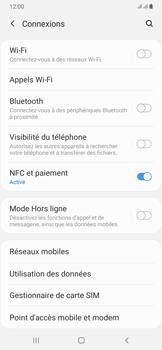 Samsung Galaxy A50 - Internet et connexion - Désactiver la connexion Internet - Étape 5