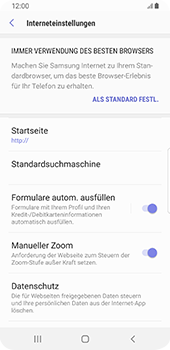 Samsung Galaxy S9 - Internet - Manuelle Konfiguration - 26 / 39