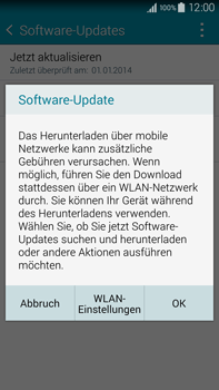 Samsung Galaxy Note 4 - Software - Installieren von Software-Updates - Schritt 8