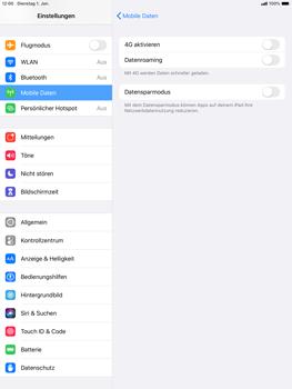 Apple iPad Air (2019) - iPadOS 13 - Netzwerk - So aktivieren Sie eine 4G-Verbindung - Schritt 5