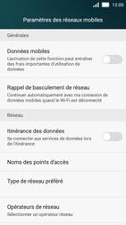 Huawei Y5 - Internet et roaming de données - Comment vérifier que la connexion des données est activée - Étape 5