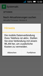 Alcatel Pop C7 - Software - Installieren von Software-Updates - Schritt 7