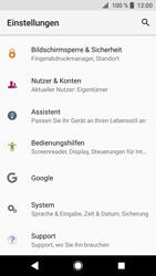Sony Xperia XZ1 - Gerät - Zurücksetzen auf die Werkseinstellungen - Schritt 4