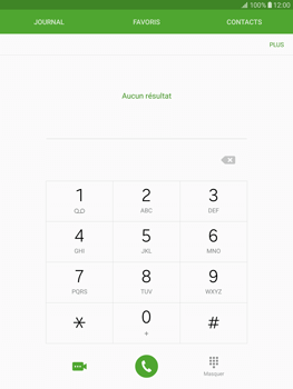 Samsung T815 Galaxy Tab S2 9.7 - Messagerie vocale - Configuration manuelle - Étape 4