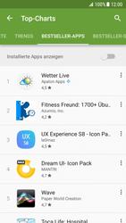 Samsung Galaxy S7 - Android N - Apps - Installieren von Apps - Schritt 12