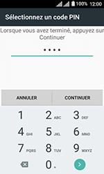 Alcatel U3 - Sécuriser votre mobile - Activer le code de verrouillage - Étape 8