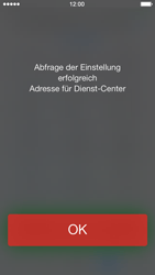 Apple iPhone 5 mit iOS 7 - SMS - Manuelle Konfiguration - Schritt 7