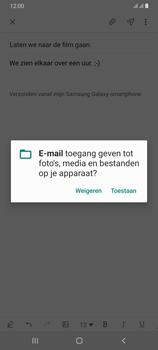 Samsung Galaxy A70 - E-mail - e-mail versturen - Stap 13