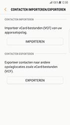 Samsung Galaxy S6 Edge - Android Nougat - Contacten en data - Contacten kopiëren van toestel naar SIM - Stap 12