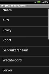 HTC A6262 Hero - Internet - Handmatig instellen - Stap 8