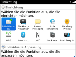 BlackBerry Bold Touch - E-Mail - Konto einrichten - 2 / 2