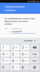 Samsung Samsung G920 Galaxy S6 (Android M) - Applicaties - Account instellen - Stap 8