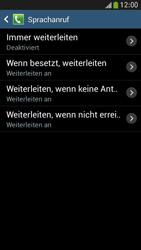 Samsung Galaxy S4 Mini LTE - Anrufe - Rufumleitungen setzen und löschen - 9 / 12